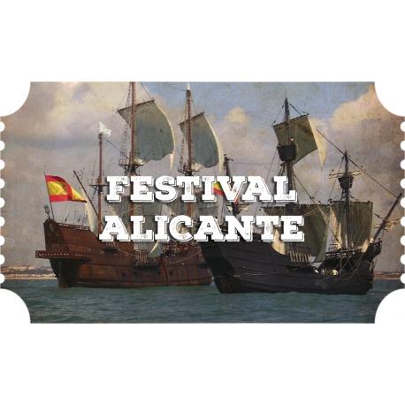 Festival V centenario Alicante (04/03-08/03)