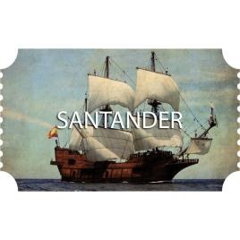 Galeón en Santander