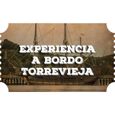 Experiencia a bordo (Torrevieja)